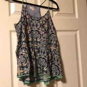 cute tank from Anthropologie